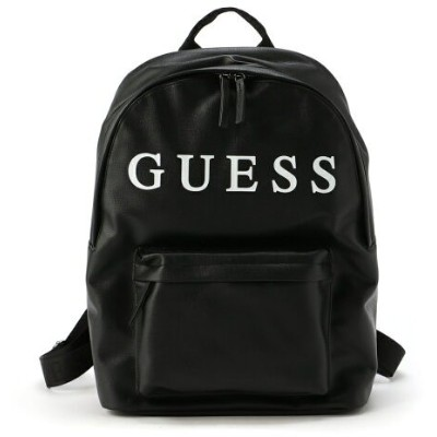 【SALE/50%OFF】GUESS (U)OUTFITTER BACKPACK ゲス バッグ リュック/バックパック ブラック レッド【RBA_E】【送料無料】