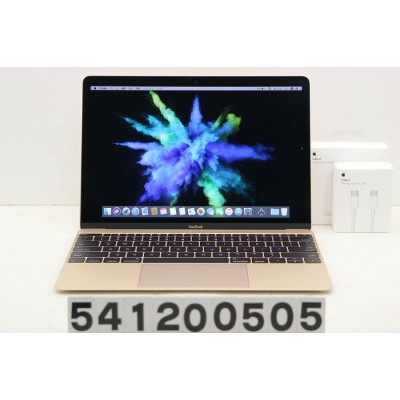 Apple MacBook Retina A1534 Early 2015 Core M-5Y51 1.2GHz/8GB/512GB(SSD)/12W/(2304x1440)【中古】...