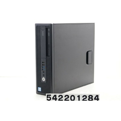 hp ProDesk 600 G2 SFF Core i5 6500 3.2GHz/4GB/500GB/Multi/RS232C/Win10【中古】【20200219】