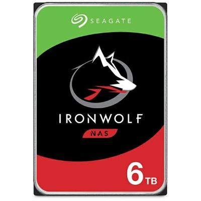 SEAGATE シーゲート ST6000VN001 内蔵HDD IronWolf(NAS用) [3.5インチ /6TB]