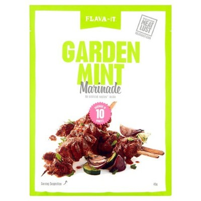 ミント シーズニング 12パック Flava-it Garden Mint Marinade 45 G (Pack of 12)