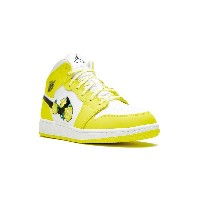 Nike Kids Air Jordan 1 Mid GS スニーカー - イエロー