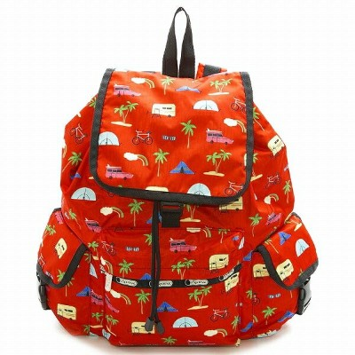 LeSportsac レスポートサック リュックサック Voyager Backpack Roadtrip Vaca