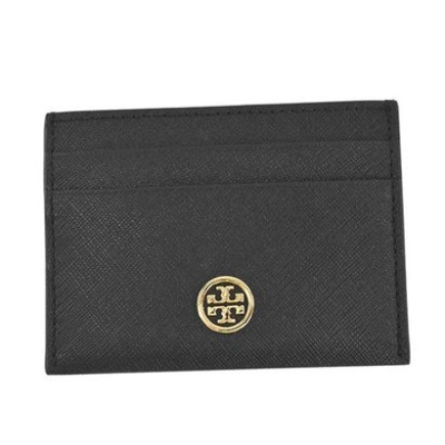 トリーバーチ TORYBURCH ROBINSON CARD CASE (BLACK)