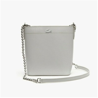 【SALE/30%OFF】LACOSTE CHANTACOCHAIN鹿の子地エンボスレザー縦型トートバッグ ラコステ バッグ トートバッグ【送料無料】