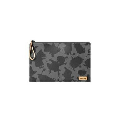 """MOZO MOOMIN Shadow Laptop Pouch 15"""" Gray Shadow Surface用ケース MZMSLP15G"""