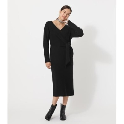 FRONT LINK KNIT ONEPIECE/アズールバイマウジー