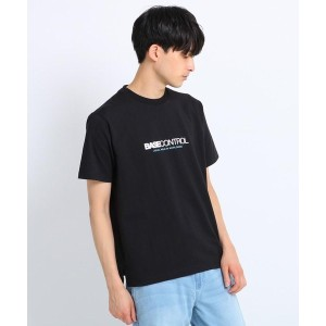 【BASE CONTROL(ベースコントロール)】 ロゴプリントTシャツ OUTLET > BASE CONTROL > トップス > Tシャツ ブラック