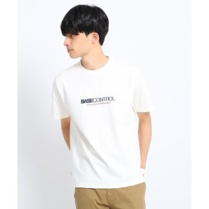 【BASE CONTROL(ベースコントロール)】 ロゴプリントTシャツ OUTLET > BASE CONTROL > トップス > Tシャツ アイボリー