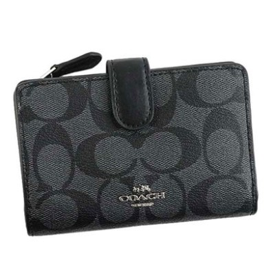 コーチ COACH WALLET (BLACK SMOKE)