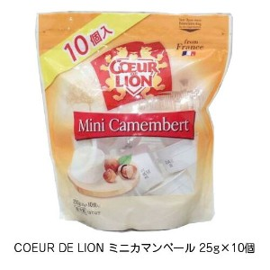 【クール便配送】コストコ COEUR DE LION ミニカマンベール 25g×10個 カマンベール チーズ おつまみ 父の日 プレゼント 贈り物