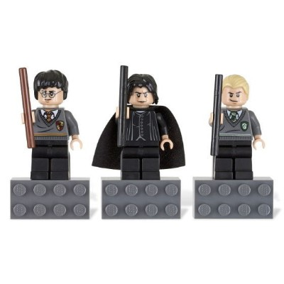 レゴ マグネット 852983 Harry Potter Magnet Set - Harry Potter, Prof. Snape, Draco Malfoy