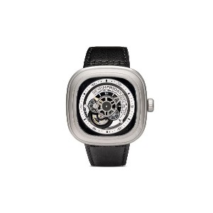 SEVENFRIDAY SF-P1 47mm 腕時計 - Black and silver