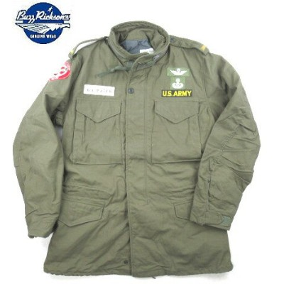 "【 BUZZ RICKSON'S 】【 バズリクソンズ 】【送料無料!!】 BUZZ RICKSON'S COAT,MAN'S,FIELD, type M-65 ""ERGLE DUST OFF""..."