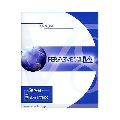 【中古】Pervasive.SQL V8 Server for WindowsNT/2000 10User