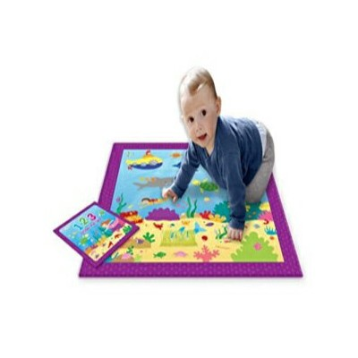 Peek a boo play mat for baby