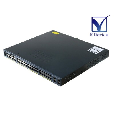Cisco Systems Catalyst WS-C2960XR-48TS-I V03 ver 15.0(2a)EX5 初期化済み【中古】