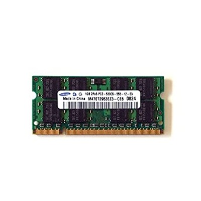【中古】Samsung 1?GB pc2???5300?ddr2???667?MHz ECC Unbuffered cl5?200pin m470t2953ez3-ce6