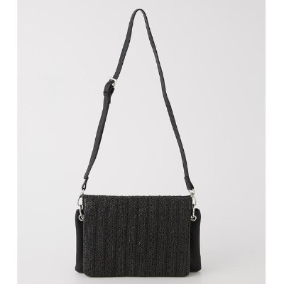 TRIPLE BLOCK SHOULDER BAG/アズールバイマウジー(レディス)(AZUL BY MOUSSY)