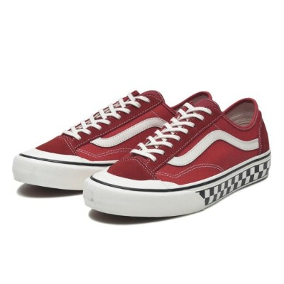 【VANS】STYLE 36 DECON SF ヴァンズ スタイル36デコンSF VN0A3MVLXGJ (S.WASH)RED