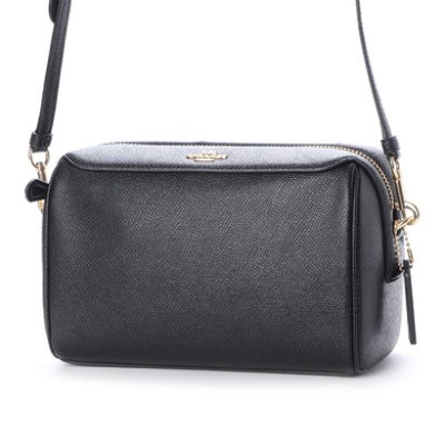コーチ COACH SHOULDER BAG (BLACK)