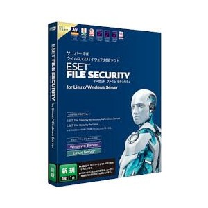キヤノンITソリューションズ ESET File Security for Linux / Windows Server 新規