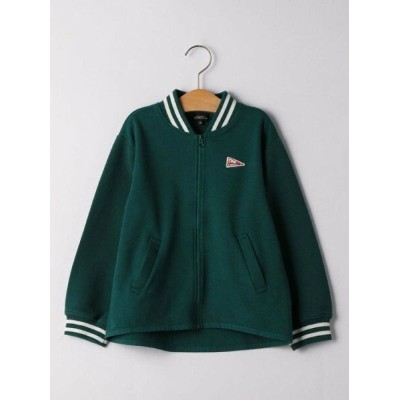 【SALE/30%OFF】UNITED ARROWS green label relaxing ダンボール×リップルスタジャン ユナイテッドアローズ アウトレット カットソー パーカー グリーン...