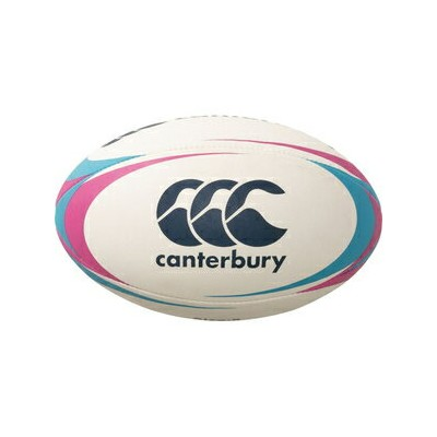 CCC-AA0040564 カンタベリー ラグビーボール 5号球(天然ゴム) CANTERBURY RUGBY BALL(ピンク)