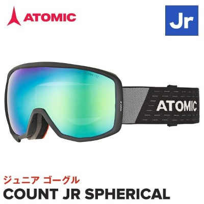 2020 ATOMIC ゴーグル AN5105652 COUNT JR SPHERICAL アトミック ジュニア BLACK /GREY