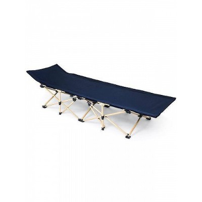 Generic ジェネリック 260lbs Capacity Outdoor Camping Cot Portae Bed,Oxford cloth Storage Bag DBL キャンプ コット...
