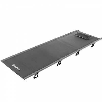 KingCamp 超軽量 Compact Folding Camping Tent Cot Bed 4.9 Pounds Grey キャンプ コット 簡易ベッド【送料無料】【代引不可】【あす楽不可】