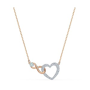 SWAROVSKI(Women)/スワロフスキー  SWA INFINITY: NECKLACE H & I CRY/CZWH/MIX ネックレス【三越伊勢丹/公式】 アクセサリー~~ネックレス...