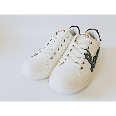 SKECHERS GOLDIE SEALED WITH A KISS 73859 WHITE(WHT) スケッチャーズ ウィメンズシューズ