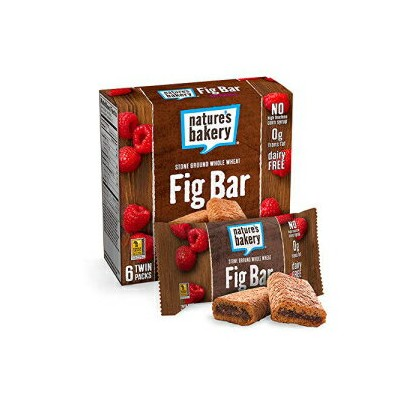 Nature's Bakery、全粒小麦ラズベリーフィグバー、12オンス Nature's Bakery, Whole Wheat Raspberry Fig Bar, 12 Ounce