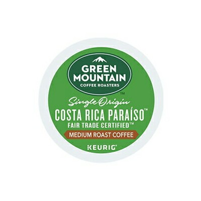 Unknown Green Mountain Coffee Costa Rica Paraiso Keurig K-Cups (18 Count)