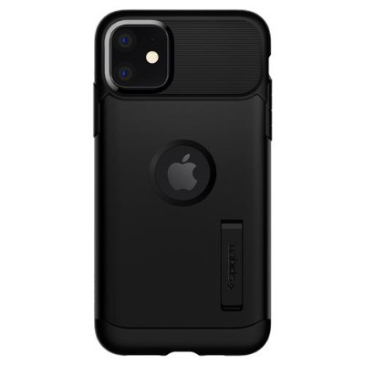 SPIGEN 076CS27076 iPhone 11 Slim Armor Black iPhone11専用ケース ブラック