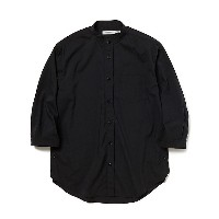 nonnative(Men)/ノンネイティブ  スタンドカラーシャツ OFFICERSHIRT Q/S RELAXEDFIT P/L WEATHER STRETCH NN-S3718 BLACK...