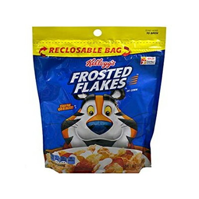 Unknown (Pack of 6) Kelloggs Cereal Bag Frosted Flakes, 3.6oz