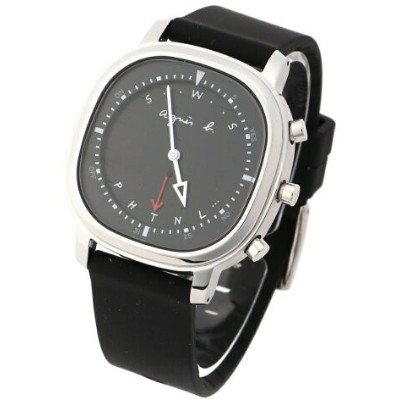 agnes b. HOMME HOMME/(M)LM02 WATCH FCRB402 時計 アニエスベー ファッショングッズ 腕時計 ブラック【送料無料】