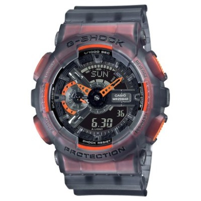 【G-SHOCK】Color Skeleton Series / GA-110LS-1AJF / Gショック (ブラックスケルトン)
