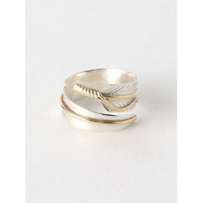 BEAUTY & YOUTH UNITED ARROWS  CHRIS CHARLEY(クリスチャーリー)  FEATHER RING 2/リング ビューティ&ユース ユナイテッドアローズ...