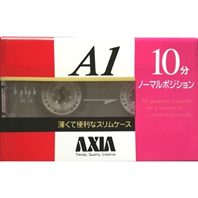 AXIA A1 10 NORMAL POSITION 録音用カセットテープ 10分