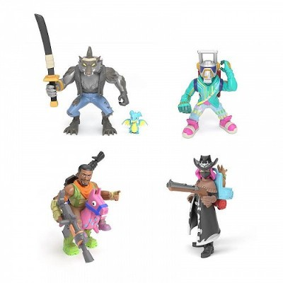 Fortnite Battle Royale Collection: Squad Pack DJ Yonder Calamity Dire & Giddy-Up Mini Action...