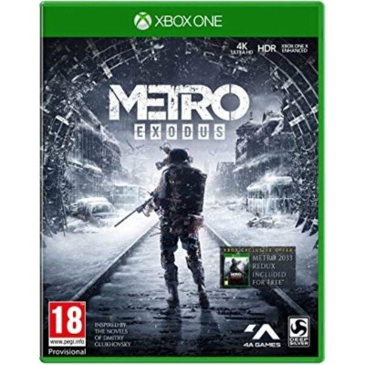 【取り寄せ】Metro: Exodus - Day One Edition /Xbox One 輸入版