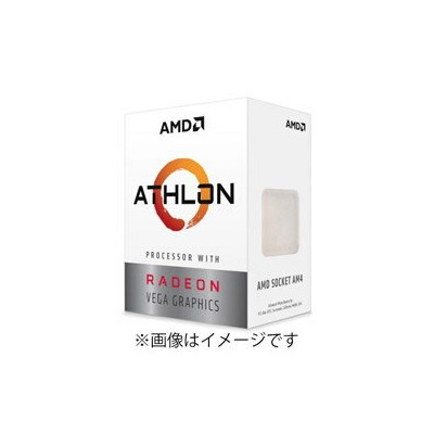 AMD(エーエムディー) Athlon 3000G BOX品 YD3000C6FHBOX