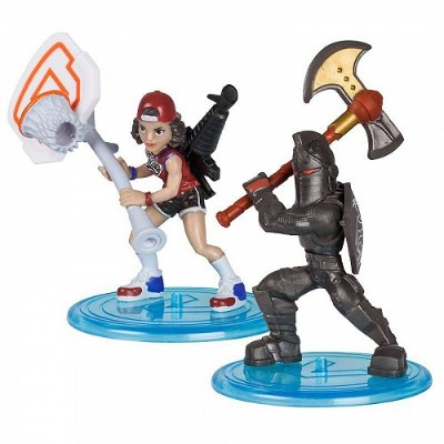 Fortnite Battle Royale Duo Pack Black Knight & Triple Threat 2 Pack of Mini Figures フォートナイト【送料無料】...