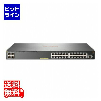 ヒューレット パッカード ( HP ) HPE Aruba 2540 24G PoE+ 4SFP+ Switch JL356A#ACF