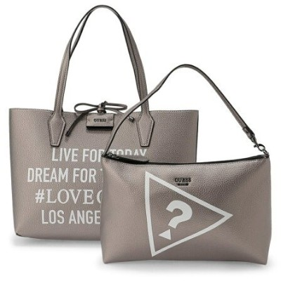 GUESS (W)BOBBI INSIDE OUT TOTE ゲス バッグ トートバッグ【送料無料】