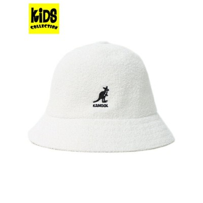 【KIDS】KANGOL KIDS BERMUDA CASUAL【195-269002-06-WHITE】