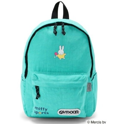 OUTDOOR PRODUCTS (W)OUTDOOR PRODUCTS×miffy 柄デイパック S アウトドアプロダクツ バッグ リュック/バックパック ブルー【送料無料】